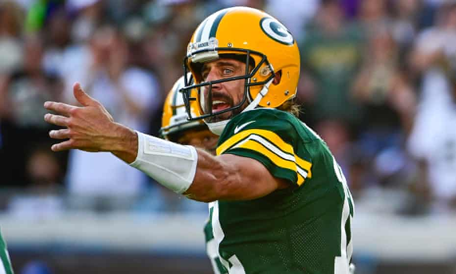 Aaron Rogers didn't show up for the Green Bay Packers